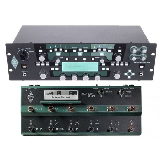 KEMPER PACK PROFILER POWERRACK AMPLIFICADOR RACK GUITARRA CON PEDALERA PROFILER REMOTE