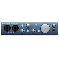 PRESONUS ITWO AUDIOBOX INTERFAZ DE AUDIO 2X2 USB