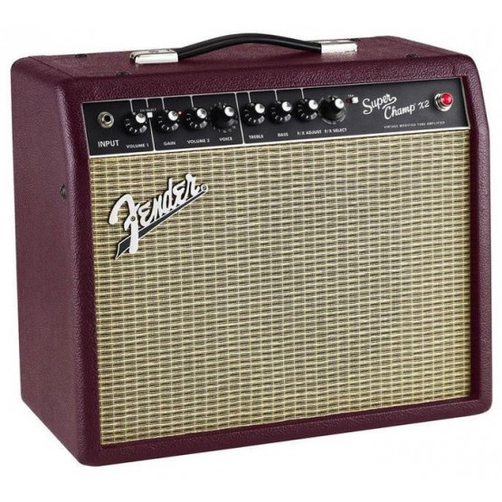 FENDER SUPERCHAMP X2 WINE G10 AMPLIFICADOR GUITARRA