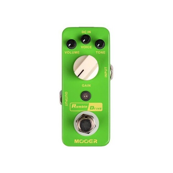 MOOER RUMBLE DRIVE PEDAL OVERDRIVE