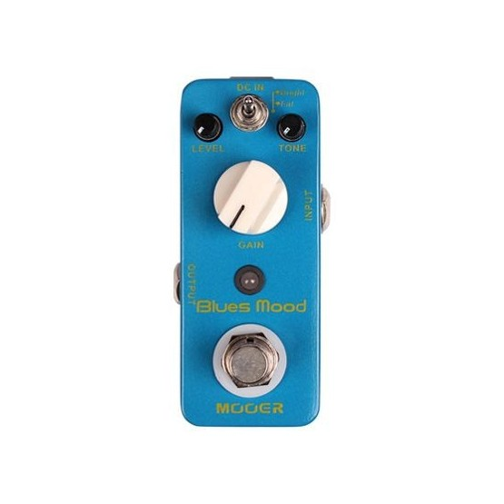 MOOER BLUES MOOD PEDAL OVERDRIVE