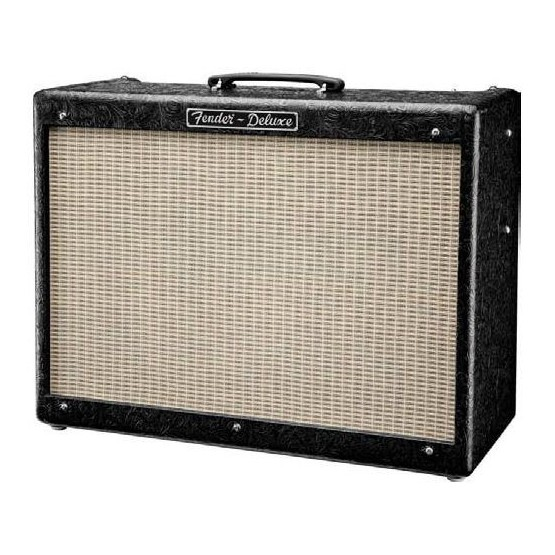 FENDER HOT ROD DELUXE III FSR BLACK WESTERN AMPLIFICADOR GUITARRA