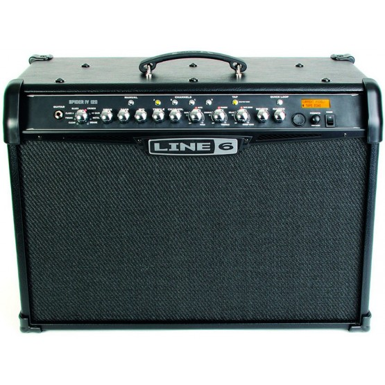 LINE 6 SPIDER IV 120 AMPLIFICADOR GUITARRA. OUTLET