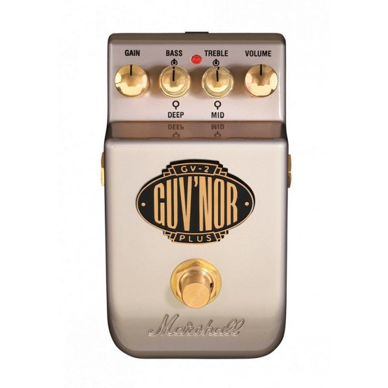 MARSHALL GUVNOR V2 PEDAL DISTORSION