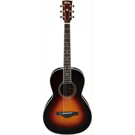 IBANEZ AVN1 BS GUITARRA ACUSTICA PARLOR BROWN SUNBURST