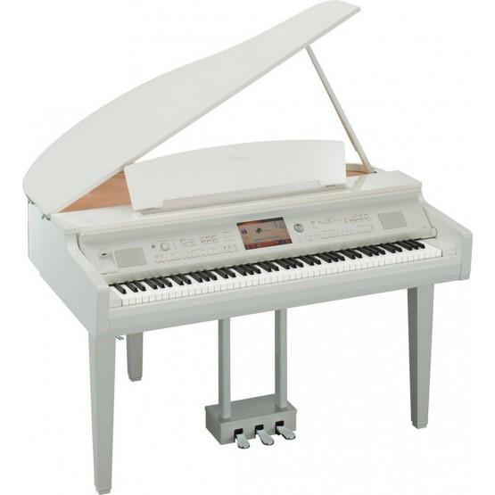 YAMAHA CVP709 GP WH PIANO DIGITAL CLAVINOVA BLANCO PULIDO