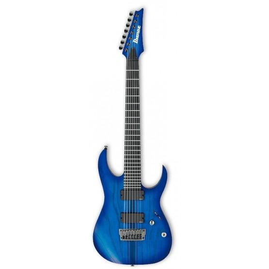 IBANEZ RGIT27FE SBF IRON LABEL GUITARRA ELECTRICA 7 CUERDAS SAPPHIRE BLUE FLAT. OUTLET
