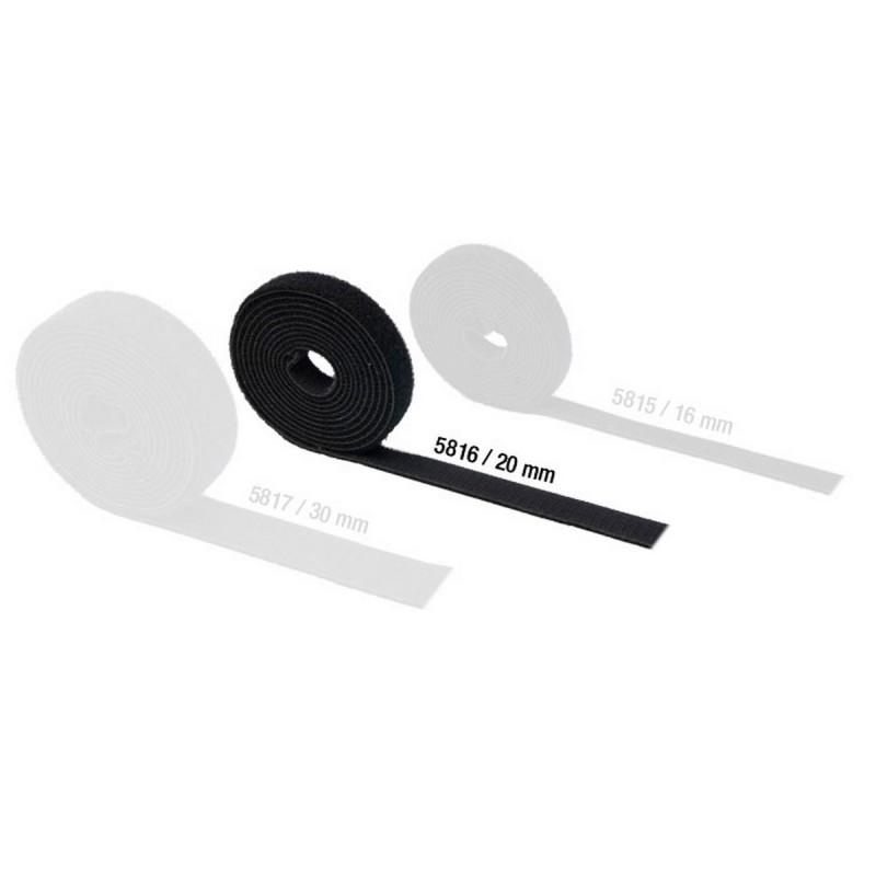 Comprar adam hall 5816 cinta velcro doble cara 20mm - Velcro doble cara ...