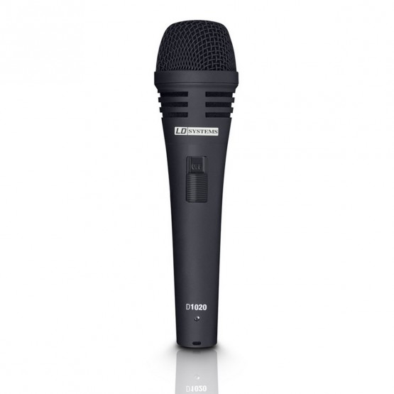 LD SYSTEMS D1020 MICROFONO DINAMICO VOCAL