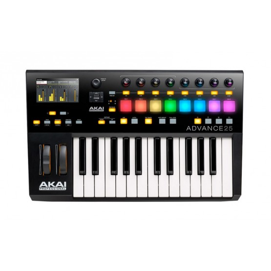 AKAI ADVANCE25 CONTROLADOR MIDI USB