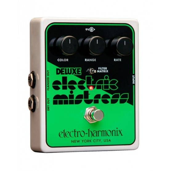 ELECTRO HARMONIX DELUXE ELECTRIC MISTRESS XO PEDAL FLANGER ANALOGICO