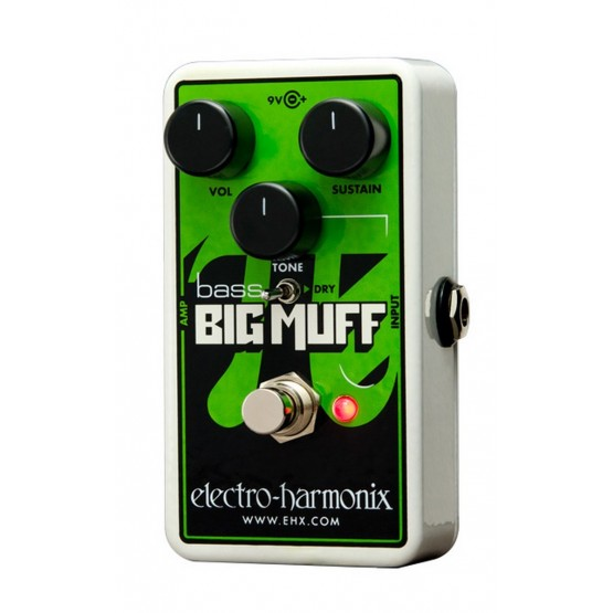 ELECTRO HARMONIX NANO BASS BIG MUFF PI PEDAL DISTORSION BAJO