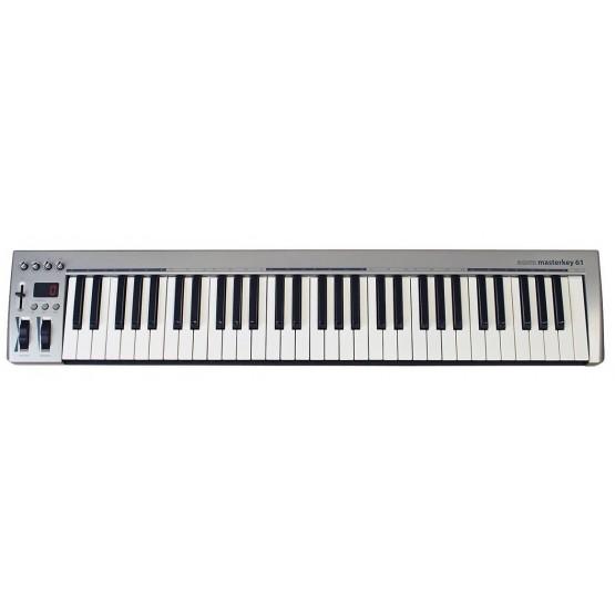 NEKTAR ACORN MASTERKEY 61 TECLADO CONTROLADOR MIDI USB 61 TECLAS