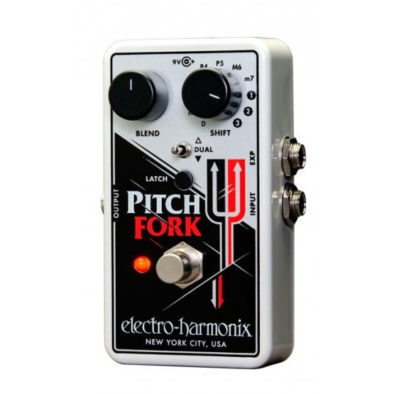 ELECTRO HARMONIX PITCH FORK PEDAL PITCH SHIFTER