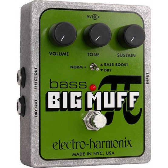 ELECTRO HARMONIX BASS BIG MUFF PI PEDAL DISTORSION BAJO