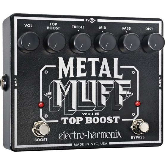 ELECTRO HARMONIX METAL MUFF PEDAL DISTORSION