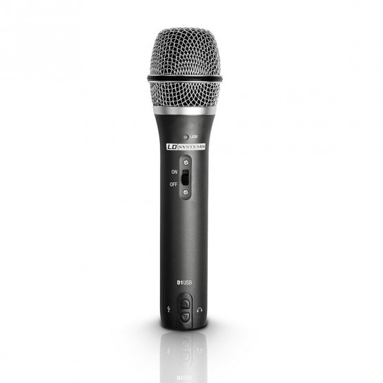 LD SYSTEMS D1USB MICROFONO DINAMICO VOCAL