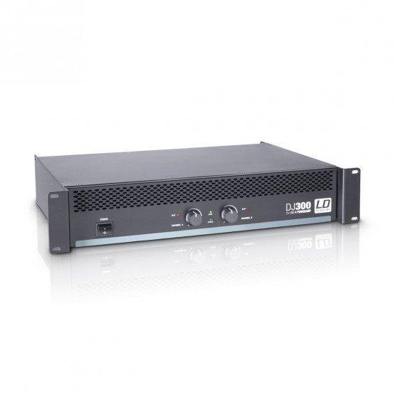 LD SYSTEMS DJ300 AMPLIFICADOR PA 2X150W