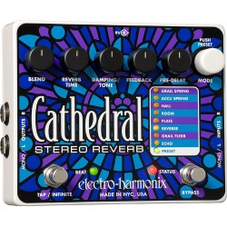 ELECTRO HARMONIX CATHEDRAL PEDAL REVERB
