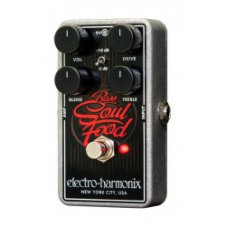 ELECTRO HARMONIX BASS SOUL FOOD PEDAL OVERDRIVE BAJO