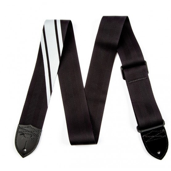 FENDER 0990608001 COMPETITION STRAP CORREA BLACK SILVER