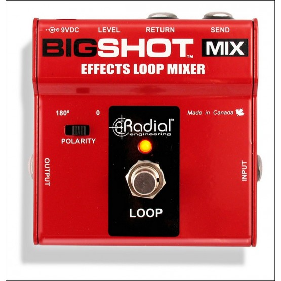 RADIAL BIGSHOT MIX LOOP EFECTOS