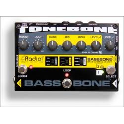 RADIAL BASSBONE V2 PEDAL PREAMPLIFICADOR BAJO