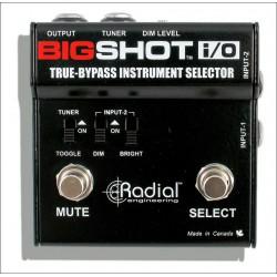 RADIAL BIGSHOT IO SELECTOR INSTRUMENTO