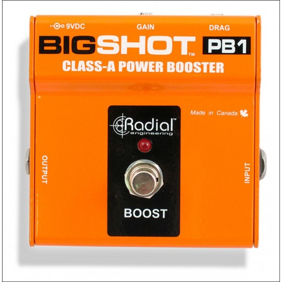 RADIAL BIGSHOT PB1 POWER BOOSTER PEDAL