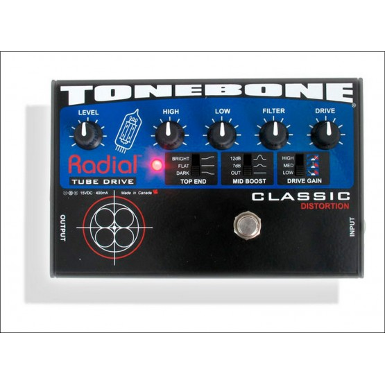 RADIAL CLASSIC PEDAL DISTORSION