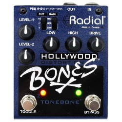RADIAL HOLLYWOOD BONES PEDAL OVERDRIVE DISTORSION