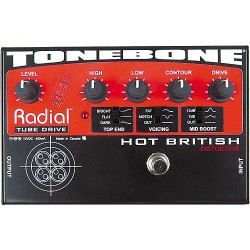 RADIAL HOT BRITISH PEDAL DISTORSION VALVULA