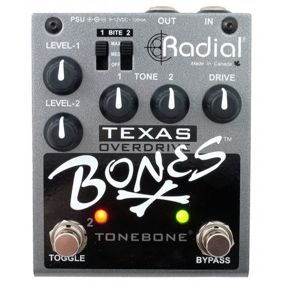RADIAL TEXAS BONES PEDAL OVERDRIVE
