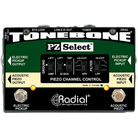 RADIAL TONEBONE PZ-SELECT CONMUTADOR SEÑAL