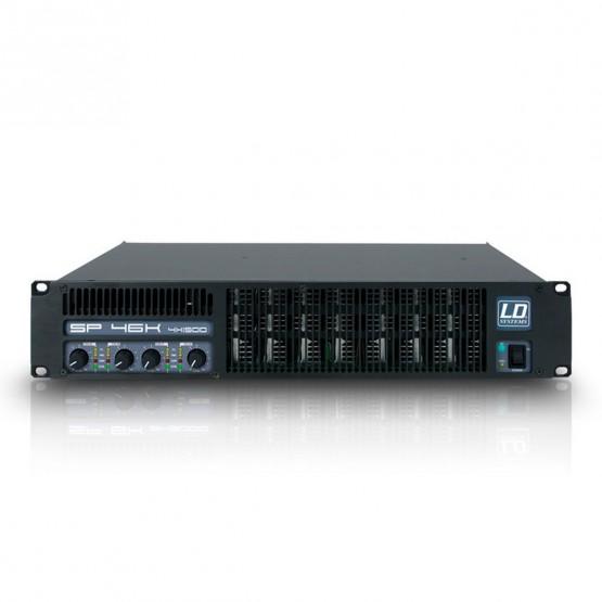 LD SYSTEMS LDSP46K AMPLIFICADOR DE PA 4X1440W