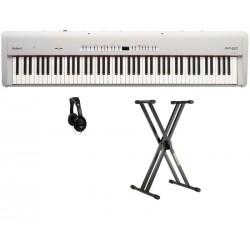 ROLAND -PACK- FP50WH PIANO DIGITAL BLANCO + SOPORTE Y AURICULARES
