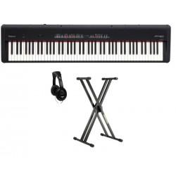 ROLAND -PACK- FP50BK PIANO DIGITAL NEGRO + SOPORTE Y AURICULARES