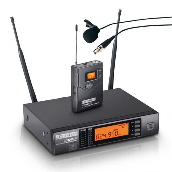 LD SYSTEMS LDWS1000G2BPL SISTEMA INALAMBRICO CON MICROFONO LAVALIER