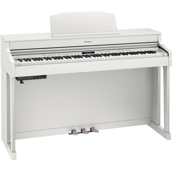 ROLAND HP603 WH PIANO DIGITAL BLANCO