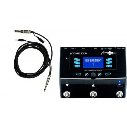 TC HELICON PLAY ACOUSTIC PACK PROCESADOR DE VOZ Y GUITARRA CON CABLE. OUTLET