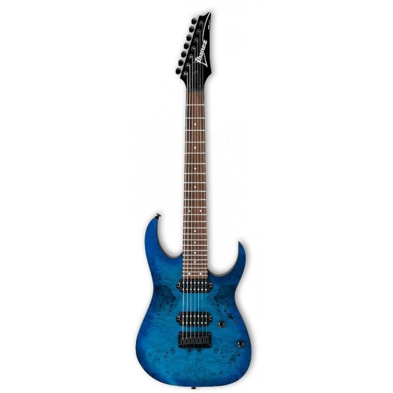IBANEZ RG7421PB SBF GUITARRA ELECTRICA 7 CUERDAS SAPPHIRE BLUE FLAT