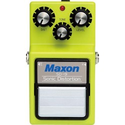 MAXON SD 9 SONIC DISTORTION PEDAL DISTORSION