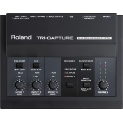 ROLAND UA33 INTERFACE DE AUDIO USB TRICAPTURE. OUTLET