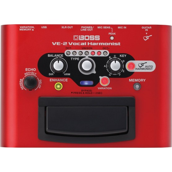 BOSS VE2 PROCESADOR VOCAL