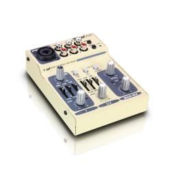 LD SYSTEMS LAX3USB MESA DE MEZCLAS 3 CANALES CON USB