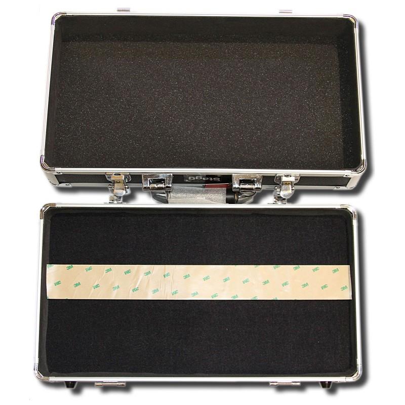 Caja para pedales de guitarra