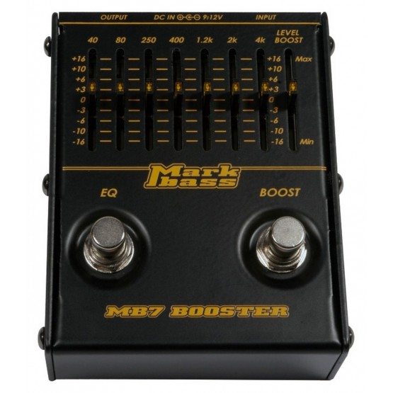 MARKBASS MB7 BOOSTER PEDAL BAJO. OUTLET