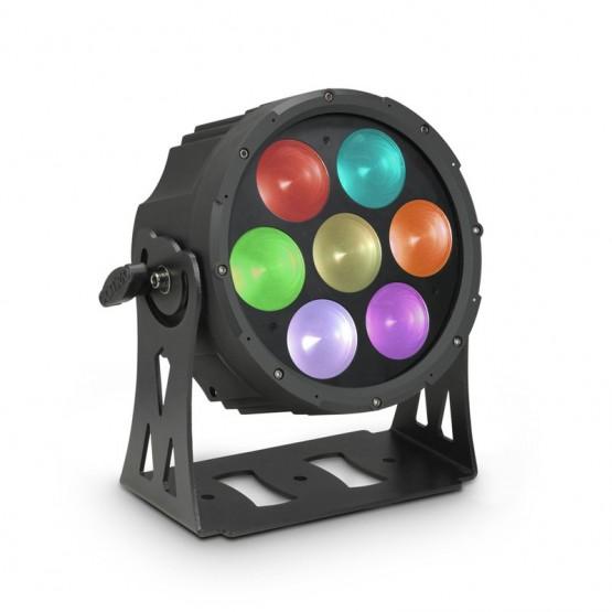 CAMEO CLFLATPROSP7 SPOTIX FOCO PAR LED COB TRICOLOR 7X30W