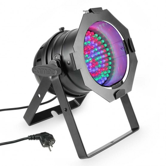 CAMEO CLP56RGB10BS FOCO PAR LED RGB 108X10MM