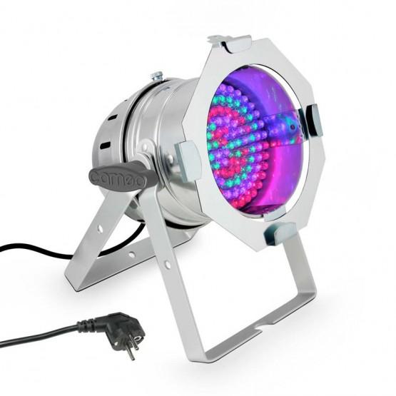 CAMEO CLP56RGB10PS FOCO PAR LED RGB 108X10MM CROMADO